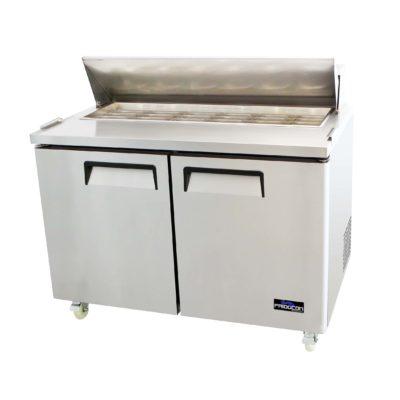 Mesas Refrigerada de Preparacion en Acero Inoxidable