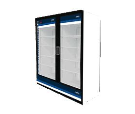 Refrigeradores Verticales Puerta de Cristal